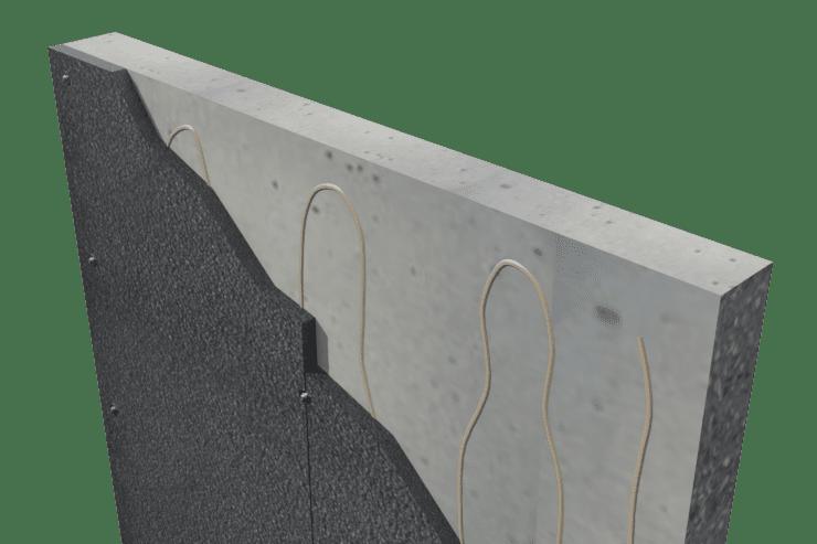 chrome over concrete