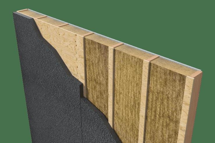 chrome over wood bracing